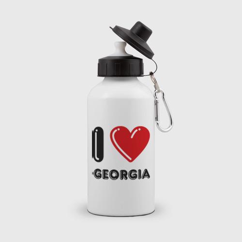 Бутылка спортивная I love Georgia