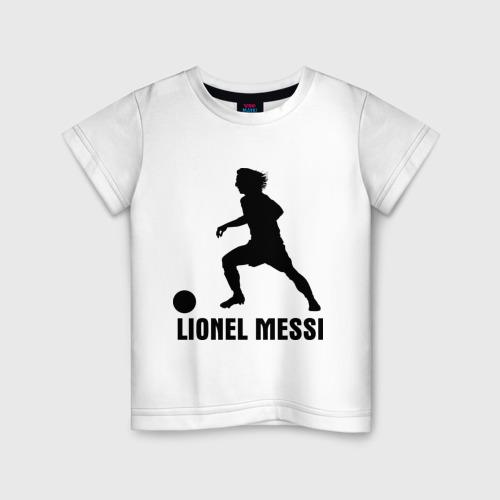 Детская футболка хлопок Lionel Messi