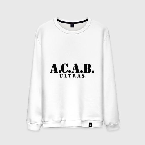 Мужской свитшот хлопок A.C.A.B. Ultras