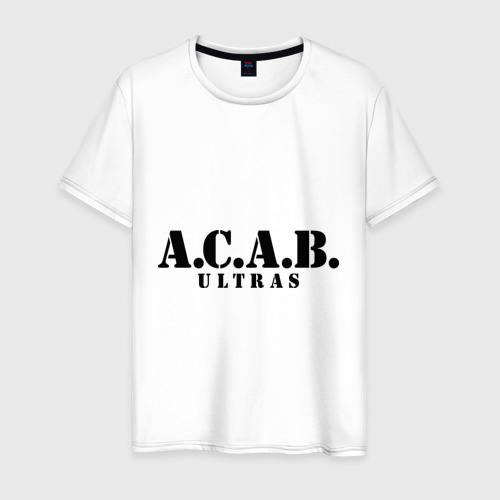 Мужская футболка хлопок A.C.A.B. Ultras