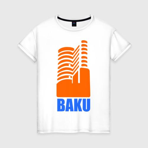 Женская футболка хлопок Баку