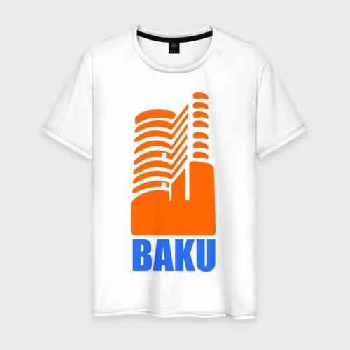 Мужская футболка хлопок Баку