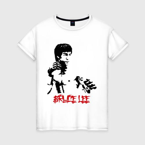 Женская футболка хлопок Брюс ли (5)