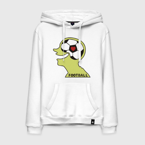 Мужская толстовка хлопок Я люблю футбол (2)