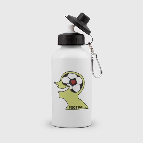 Бутылка спортивная Я люблю футбол (2)
