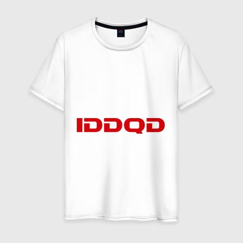 Мужская футболка хлопок IDDQD Doom