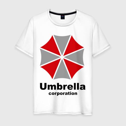 Мужская футболка хлопок Umbrella corporation