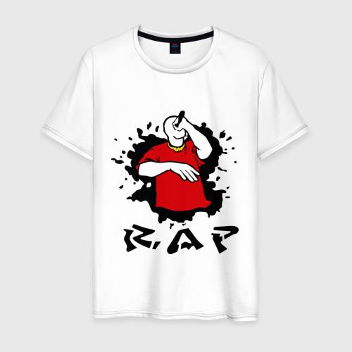 Мужская футболка хлопок Rap (6)