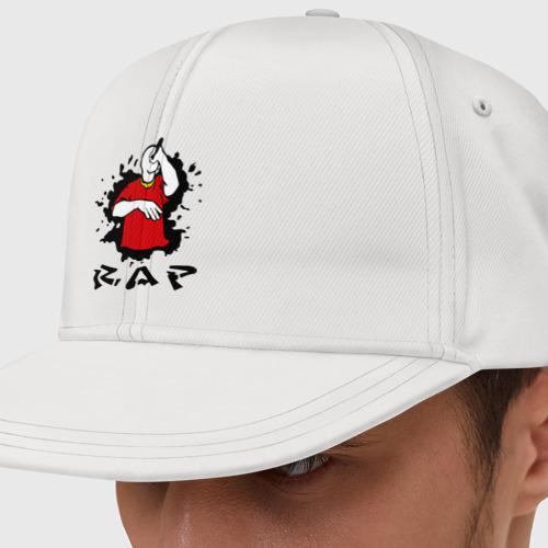 Кепка снепбек с прямым козырьком Rap (6)