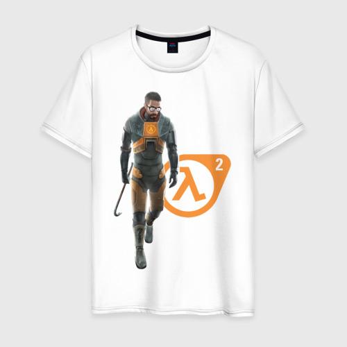 Мужская футболка хлопок Half Life 2. Gordon Freeman