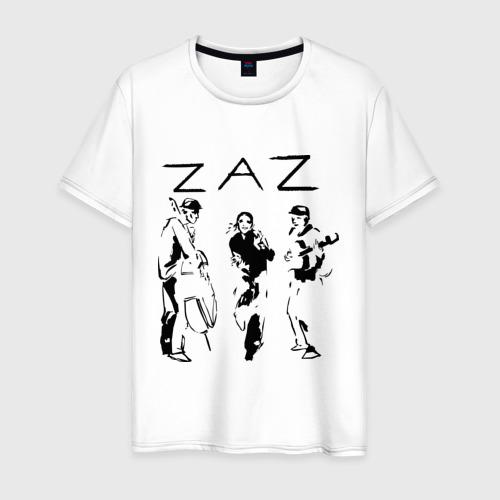Мужская футболка хлопок Zaz