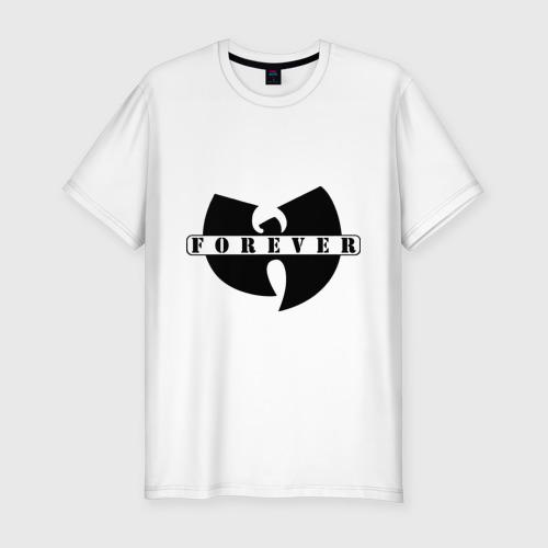 Мужская футболка хлопок Slim Wu-Tang Forever