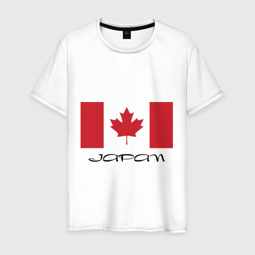 Мужская футболка хлопок Канада-Япония