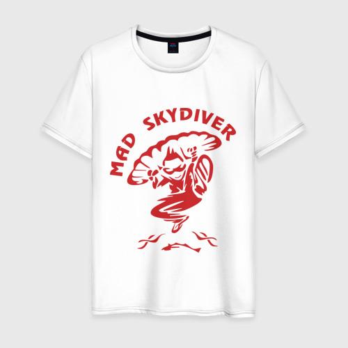 Мужская футболка хлопок Mad Skydiver