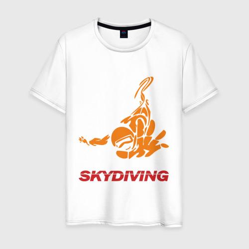 Мужская футболка хлопок Skydiving (2)