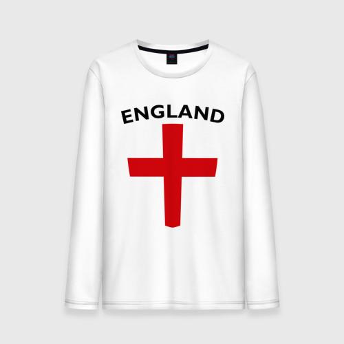 Мужской лонгслив хлопок England - Англия