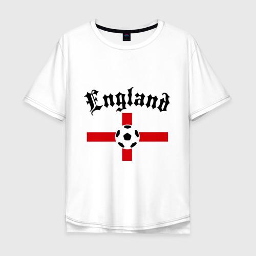 Мужская футболка хлопок Oversize England (2)