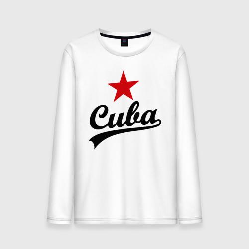 Мужской лонгслив хлопок Куба - Cuba