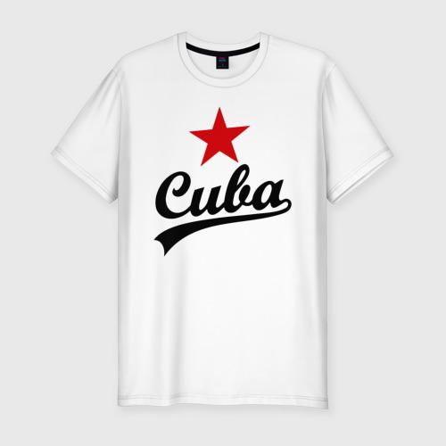 Мужская футболка хлопок Slim Куба - Cuba