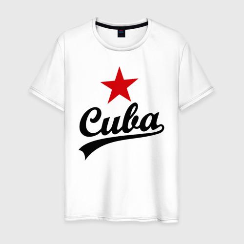 Мужская футболка хлопок Куба - Cuba