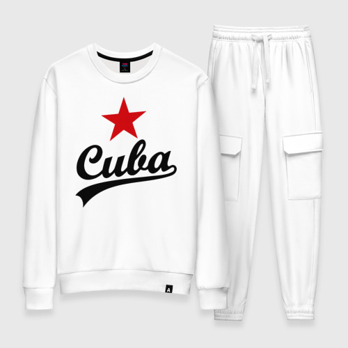 Женский костюм хлопок Куба - Cuba