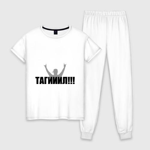 Женская пижама хлопок Тагил