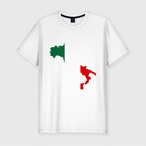 Мужская футболка хлопок Slim Италия (Italy)