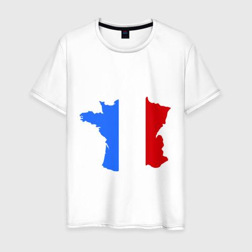 Мужская футболка хлопок Франция (France)