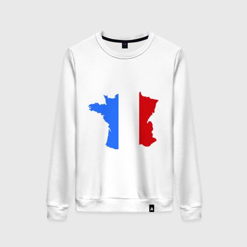 Женский свитшот хлопок Франция (France)
