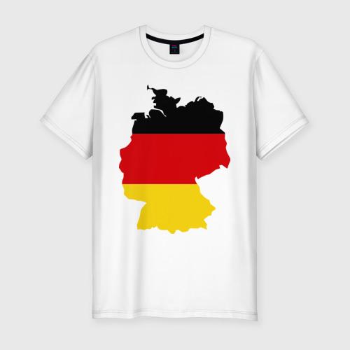 Мужская футболка хлопок Slim Германия (Germany)