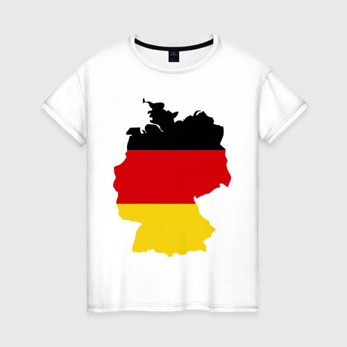Женская футболка хлопок Германия (Germany)