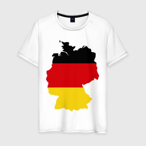 Мужская футболка хлопок Германия (Germany)