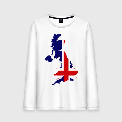 Мужской лонгслив хлопок Великобритания (Great Britain)