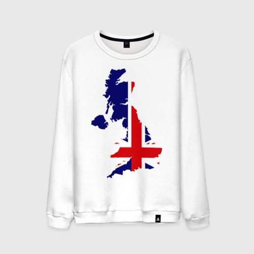 Мужской свитшот хлопок Великобритания (Great Britain)