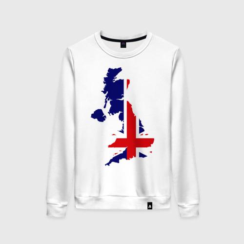 Женский свитшот хлопок Великобритания (Great Britain)