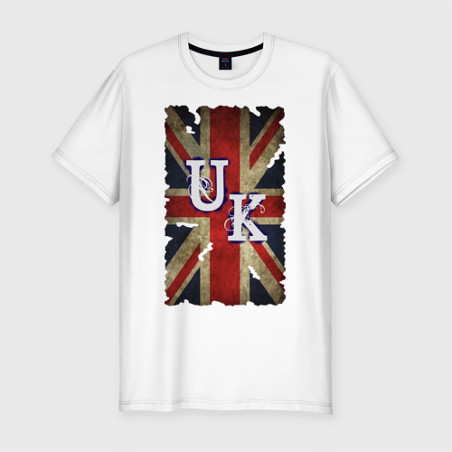 Мужская футболка хлопок Slim United Kingdom