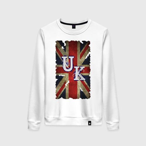 Женский свитшот хлопок United Kingdom