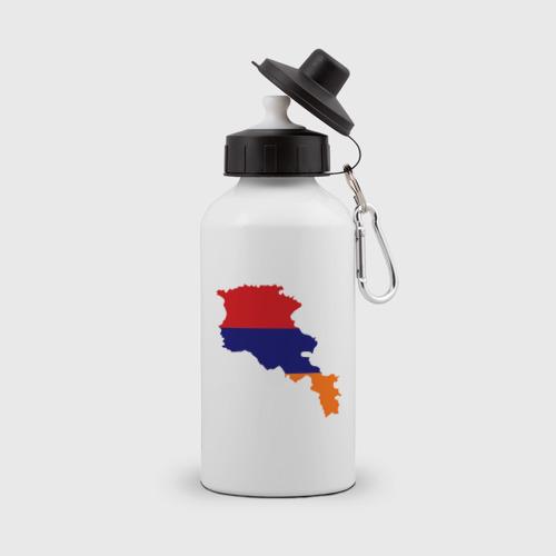 Бутылка спортивная Armenia map