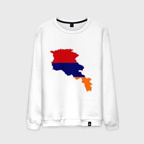 Мужской свитшот хлопок Armenia map