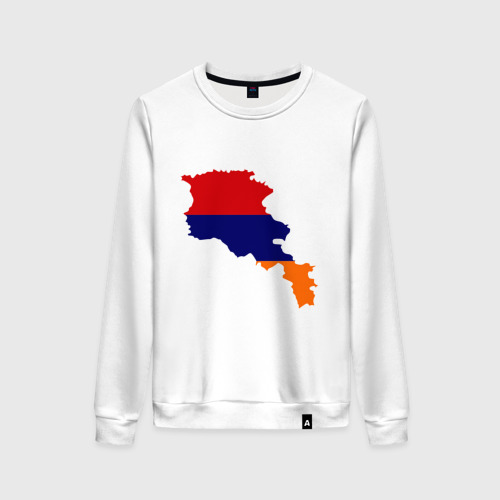 Женский свитшот хлопок Armenia map