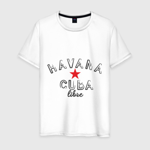 Мужская футболка хлопок Havana Cuba