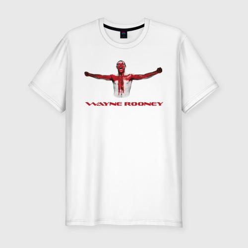Мужская футболка хлопок Slim Wayne Rooney