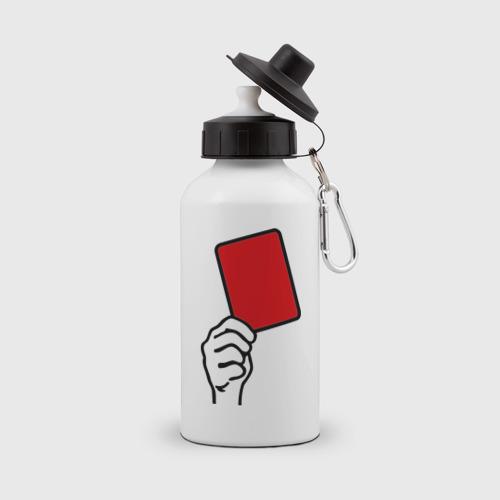 Бутылка спортивная Красная карточка (2)