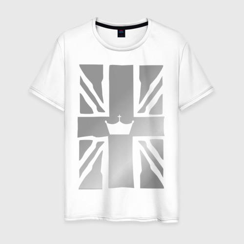 Мужская футболка хлопок Королевский флаг Великобритании