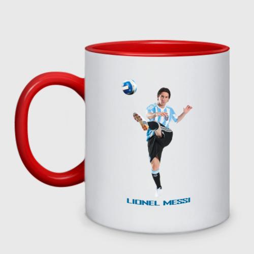 Кружка двухцветная Lionel Messi - Argentina