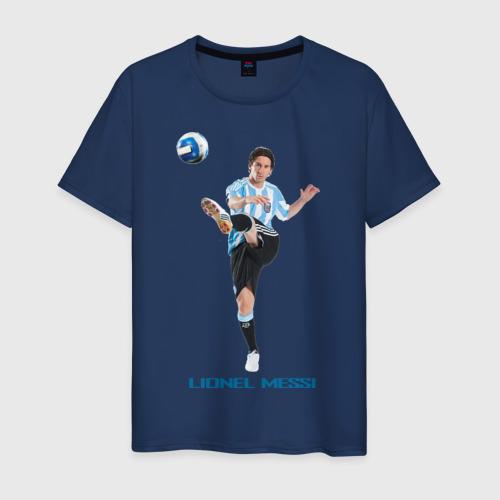Мужская футболка хлопок Lionel Messi - Argentina
