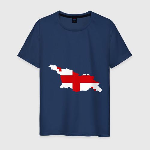 Мужская футболка хлопок Грузия (Georgia)