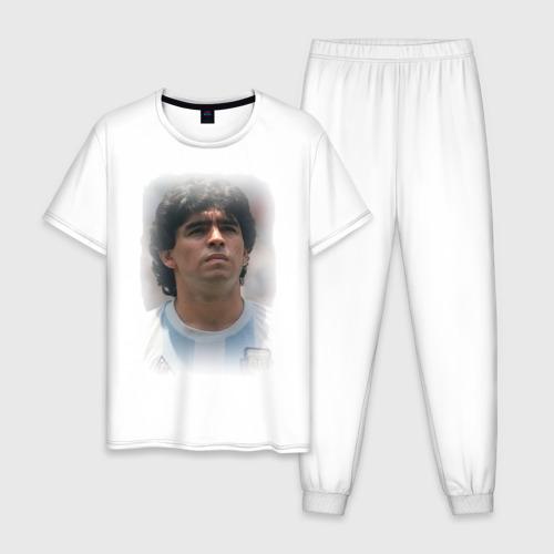 Мужская пижама хлопок Diego Maradona (2)