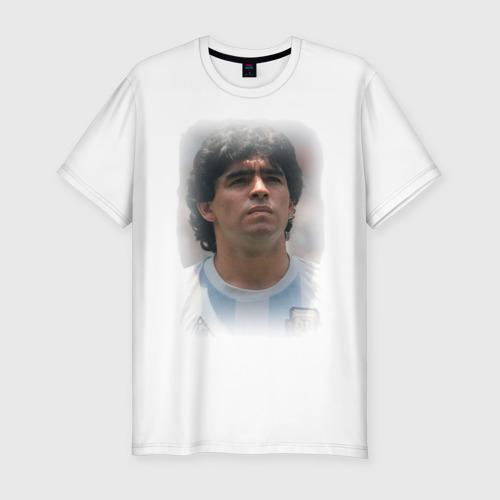 Мужская футболка хлопок Slim Diego Maradona (2)