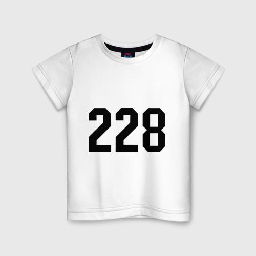 Детская футболка хлопок 228